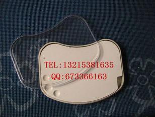 Plaque de porcelaine de matériaux de laboratoire dentaire 1 pc/plaque de porcelaine d'agitation hydratante avec couvercle en plastique