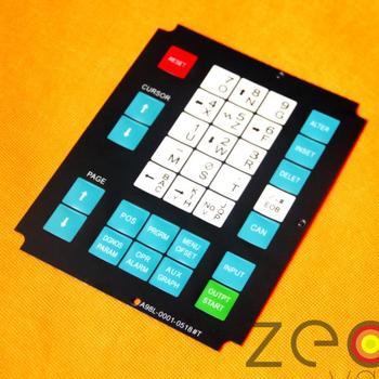 5pcs/Lot A98L-0001-0518#T Operator Keypad For Fanuc Membrane Keysheet Keyboard