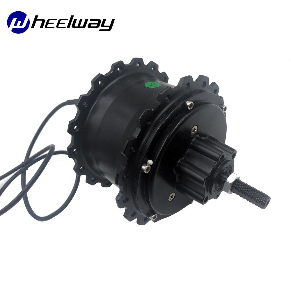 48V 800W снег электрический велосипед мотор толстый снег шины электровелосипеда мотор передний или задний привод бесщеточный