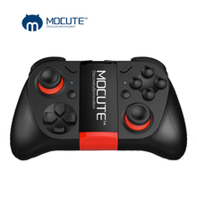 MOCUTE 050 Wireless Gamepad Bluetooth 3.0 Game Controller Joystick Mini Gamepad Fit Android/iSO Phones Android Smartphone TV BOX