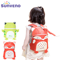 New SUNVENO Toddler Baby Harness Backpack Cute Baby Backpack Fashion Children Backpacks 3D Animal Prints mochila High Quality