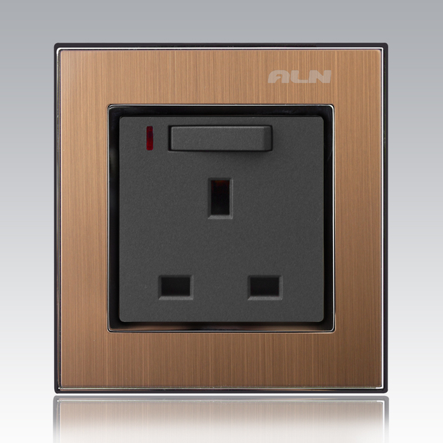 MVAVA 13A Wall Switched Socket UK Standard Outlets With A Gang AC ...