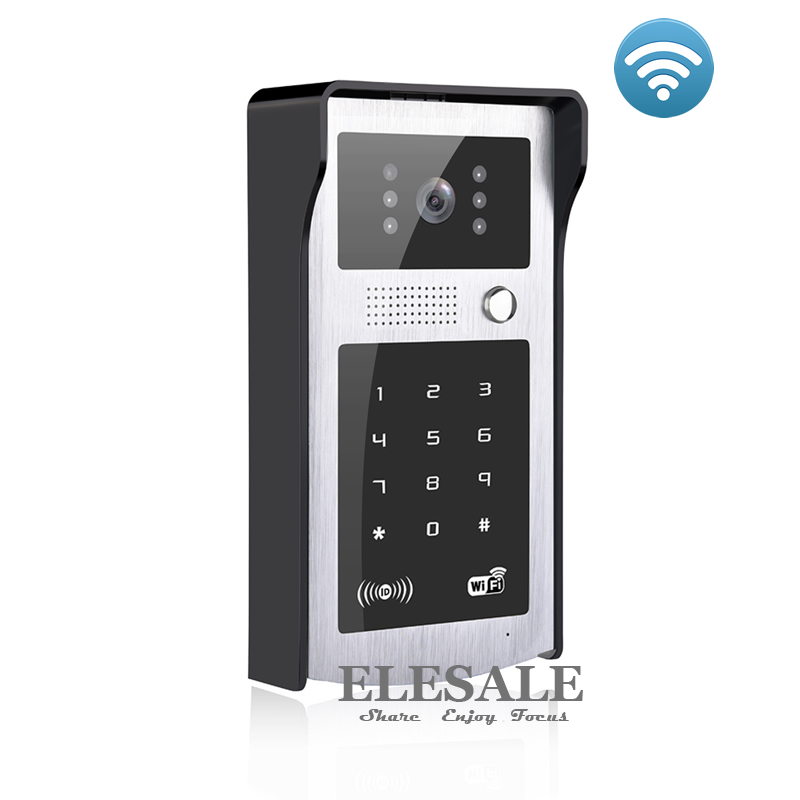 New Wifi Ip Video Door Phone Intercom Doorbell With Rfid Unlock