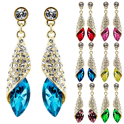 Perfect Gold Earrings For Women  Aamzing Designs 2013