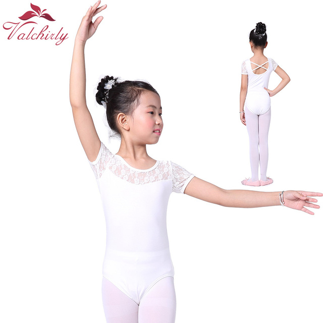 7862ba16e006 Aliexpress.com   Buy Girls Ballet Laces Gymnastic Dress Dance ...