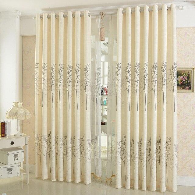 Gut Modern Style Printed Baumwolle Und Leinen/wohnzimmer Schlafzimmer Fenster  Vorhang Gaze Vorhang, Um Zu