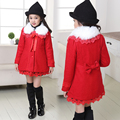 New Arrival Spring Autumn Children Girls European Jackets Child Long Outwear Girls Trench Coat Jacket 5-14 Years