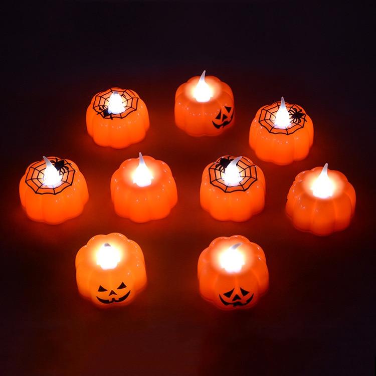 Haus & Garten Kerzen Pflichtbewusst Lellen 12 Teile/los Kürbis Tee Licht Flackern Enthalten Batterien Led Kerzen Elektrische Kerzen Chandelle Hochzeiten Weihnachten