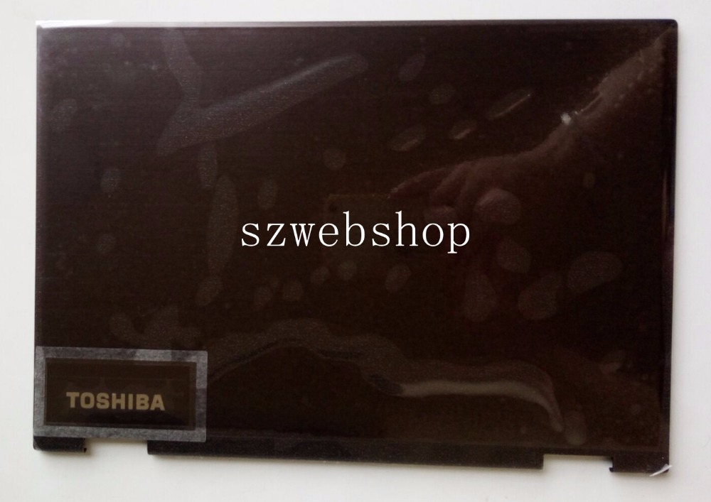 H000096590 New for Toshiba P25W-C P25W-C2302 P25W-C2304 P25W-C2300 P25W-C2304-4K fit touch lcd back cover top case black