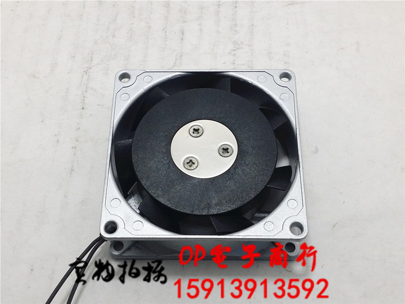 Emacro For ORIX MU825S-43 Server Square Cooling Fan AC 200V 0.08A 80x80x25mm 2-wire emacro udqfrjp05dcm dc28000akp0 server square fan dc5v 0 18a 4 wire