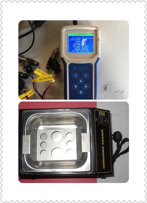 Bst501 автомобильной Топливная форсунка/Топливный насос/компрессор для кондиционирования воздуха тестер/инструмент для очистки и мини ультр