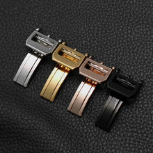 For ten thousand watches with buckle folding buckle accessories leather strap butterfly buckle forpilots forPortugal series sun shuyun ten thousand miles without a cloud