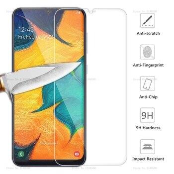 Перейти на Алиэкспресс и купить Закаленное Стекло для samsung Galaxy A30 A50 Экран защитная пленка 9H Защитная пленка для телефона на 30 50 A70 A40 A60 A90 M10 M20 M30 A10