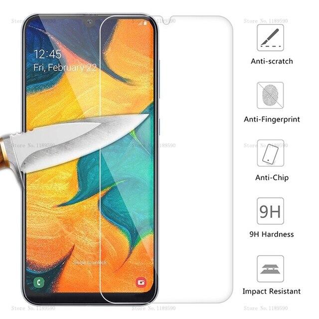 Kính cường lực Dành Cho Samsung Galaxy Samsung Galaxy A30 A50 Tấm Bảo Vệ Màn Hình 9 H An Toàn Màng bảo vệ Trên 30 SM A305FD A505FD M M10 M20 M30 A10