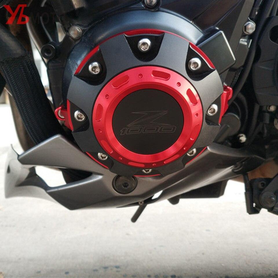 Nouveau Style pour Kawasaki Z1000 Z1000SX 2011-2017 2018 2019 moto rouge moteur garde côté Stator étui protecteur 5 couleurs