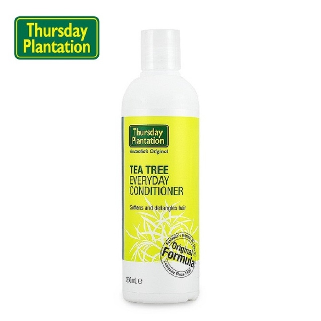 Thursday Plantation Tea Tree Everyday Conditioner 250ml soften detangles hair, natural antiseptic support scalp and hair health