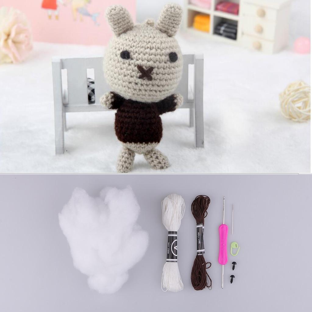sharprepublic Kaninchen Design Crochet Kit DIY Stofftier Material ...   1024x1024