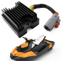 Mayitr Motorcycle Voltage Regulator Rectifier for SeaDoo Challenger GTI Speedster Utopia 1500 GTX 4 TEC 800 GTI RFI 215 RXP