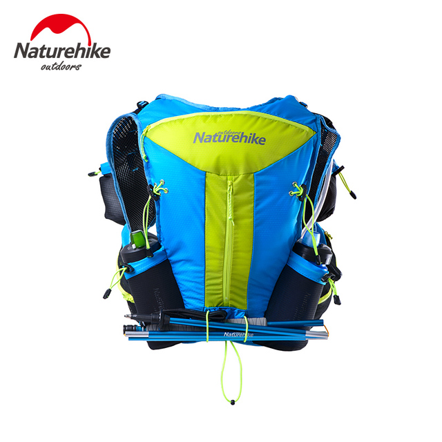 Naturehike Hiking Hydration Backpacks Lighweight Unisex Marathon Backpack Close Fitting Tactical Packs Trekking Running Bags 12L