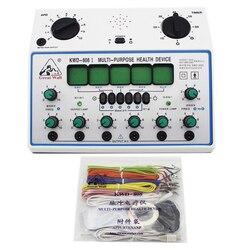 Электрический стимулятор иглоукалывания машина электрический стимулятор мышц нерва 6 каналов Выход патч Массажер Уход KWD808-I