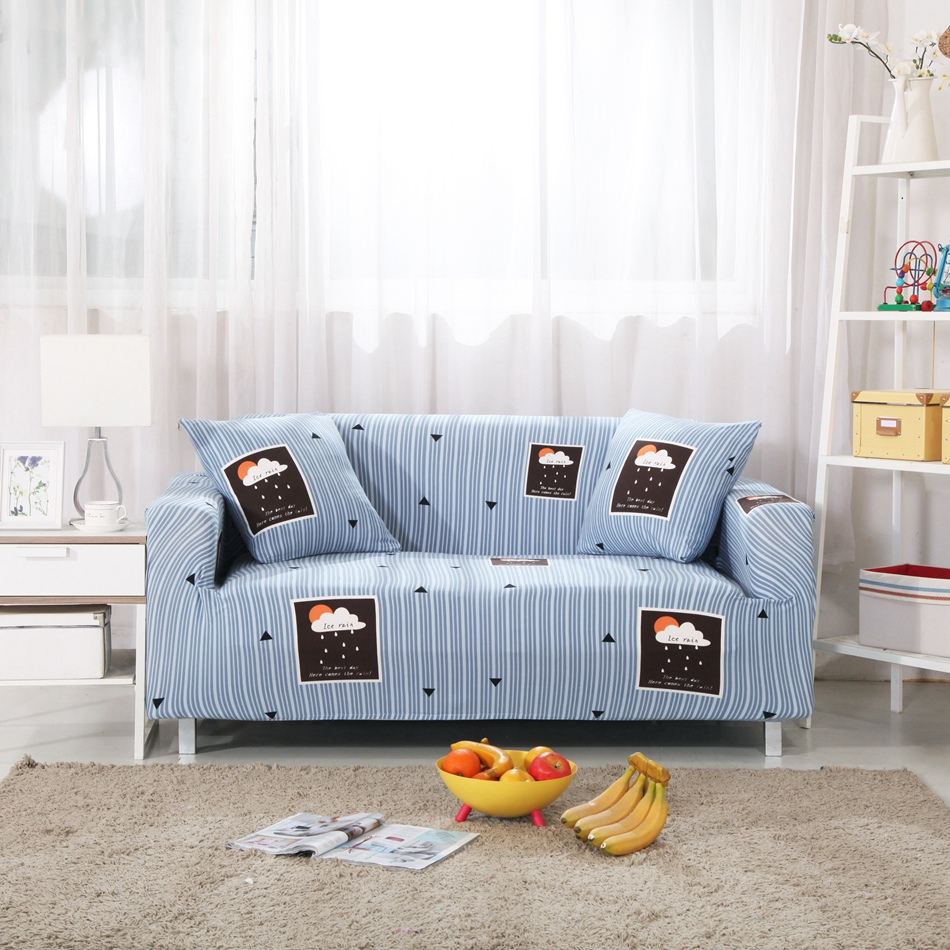 Online Buy Wholesale blue striped sofa from China blue striped ...