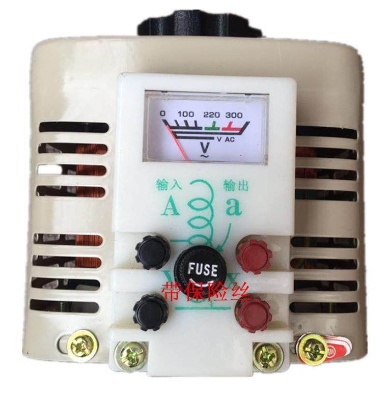 2000W Household single phase Voltage Regulators 0 250V is adjustable Transformer 2KVA-in Voltage Regulators/Stabilizers from Home Improvement    2