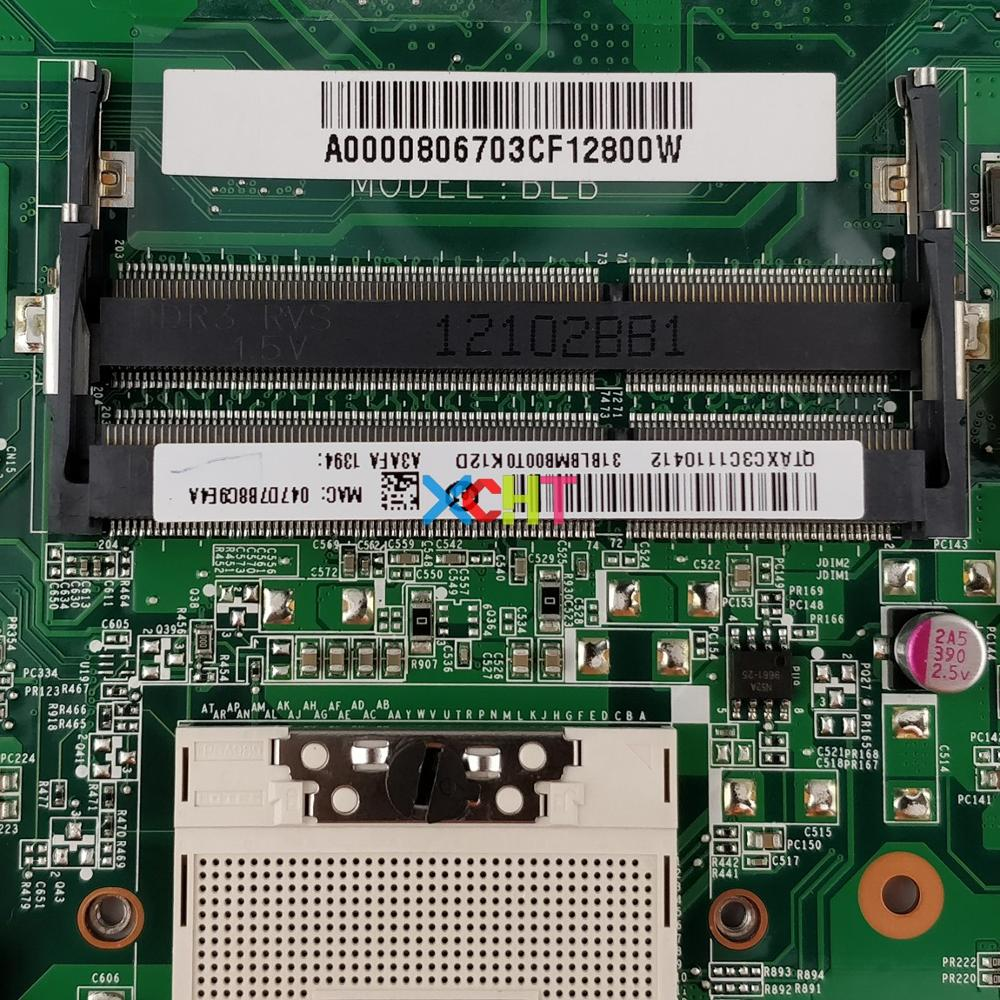 Image 3 - A000080670 DA0BLBMB6F0 HM65 for Toshiba Satellite L755 L750 NoteBook PC Laptop Motherboard Mainboard-in Laptop Motherboard from Computer & Office
