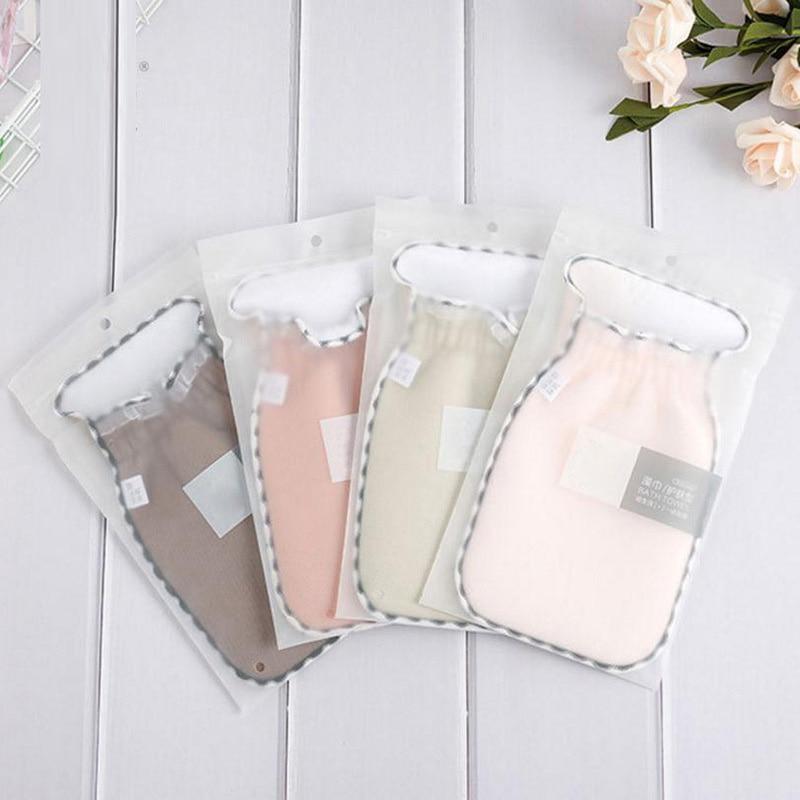 Exfoliating Gloves Mitten Remove Dead Skin Bath Body Scrub Gloves Deep Exfoliation Gloves Bath Shower Supplies