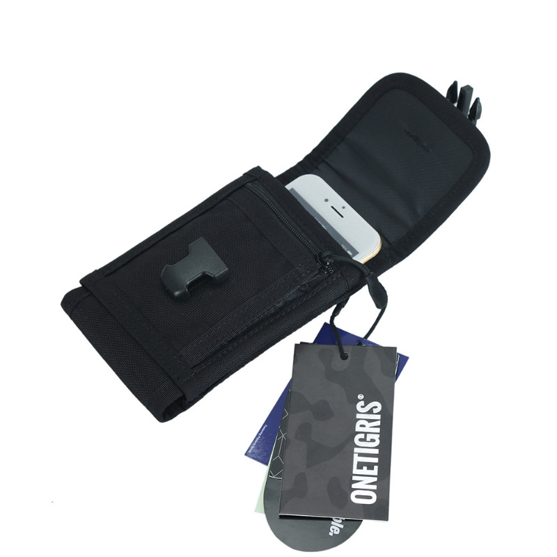 Onetigris Wallet Tactical Phone-Pouch Cordura Molle 1000D Nylon for 8/8-Plus Mini