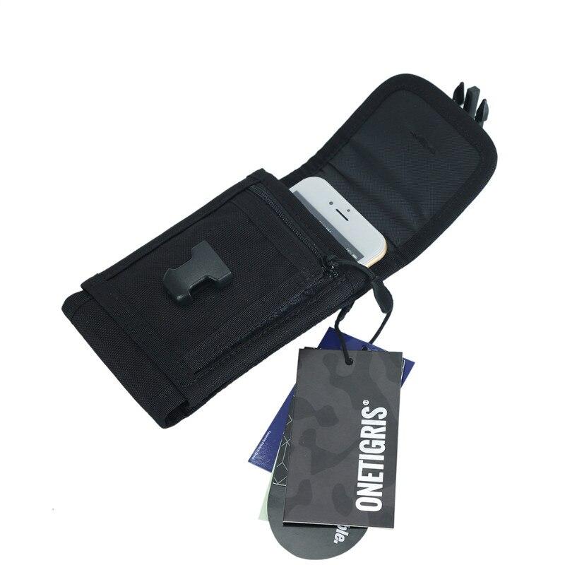 OneTigris Phone Pouch Mini Wallet Tactical Molle Cellphone Case Pouch 1000D Cordura Nylon For IPhone 6/6 Plus/7/7 Plus/8/8 Plus
