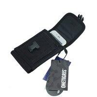 OneTigris Telefoon Pouch Mini Portemonnee Tactische Molle Gsm Case Pouch 1000D Cordura Nylon voor iPhone 6/6 plus/7/7 plus/8/8 plus