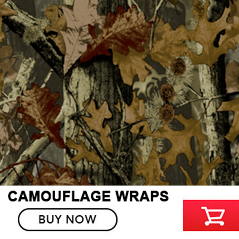 FS013 1.52*5/10/15/20/25/30m Camo Wraps Graphics Realtree Real Tree Camouflage Vinyl Wrap Car Wrapping Film Self Adhesive цена