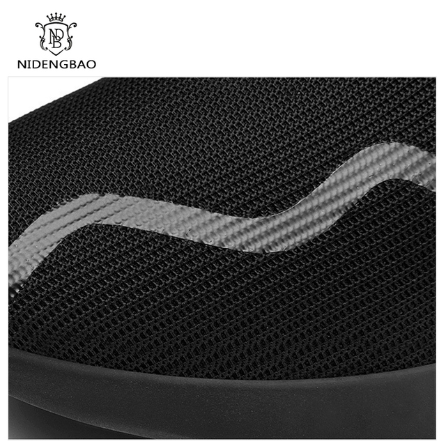 Hot Sale Men Shoes Lightweight Sneakers Breathable Slip-on Casual Shoes For Adult Fashion Footwear Zapatillas Hombre Black Cheap
