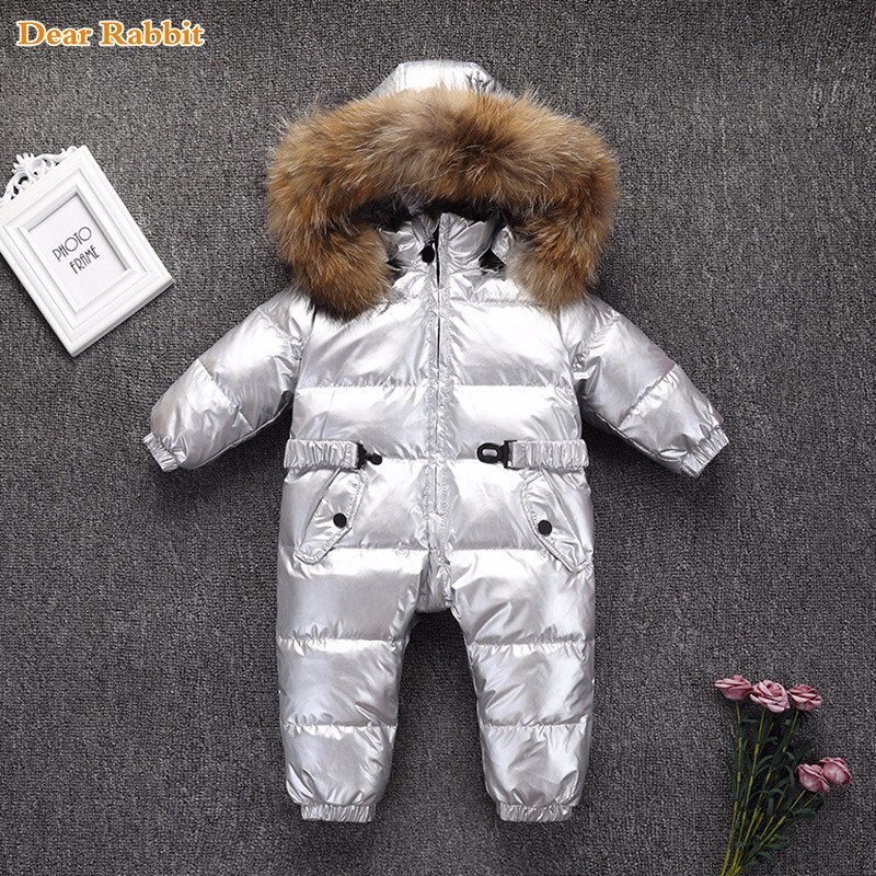 -30 degrees Winter coat Romper Children Baby wear Boy Thick Girl infant snow Clothes Down Jacket Kids Overcoat waterproof Parka-30 degrees Winter coat Romper Children Baby wear Boy Thick Girl infant snow Clothes Down Jacket Kids Overcoat waterproof Parka
