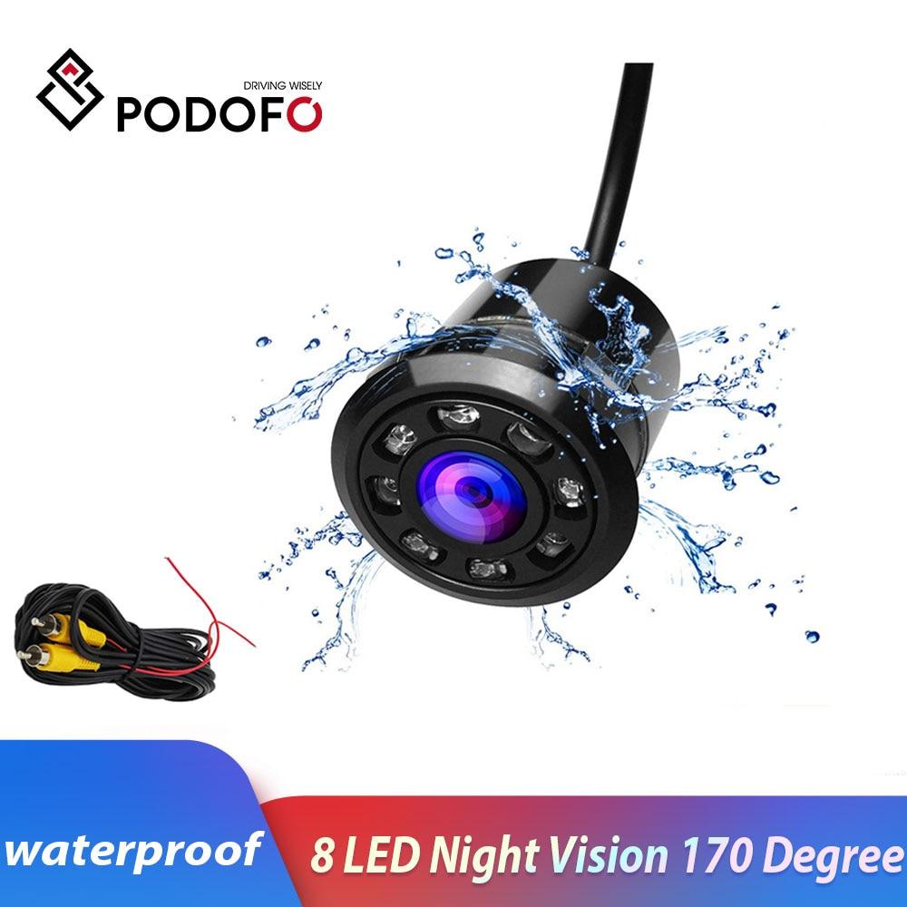 170 Degree Waterproof Reverse Backup Camera Mini CCD Rear View Camera Assistant