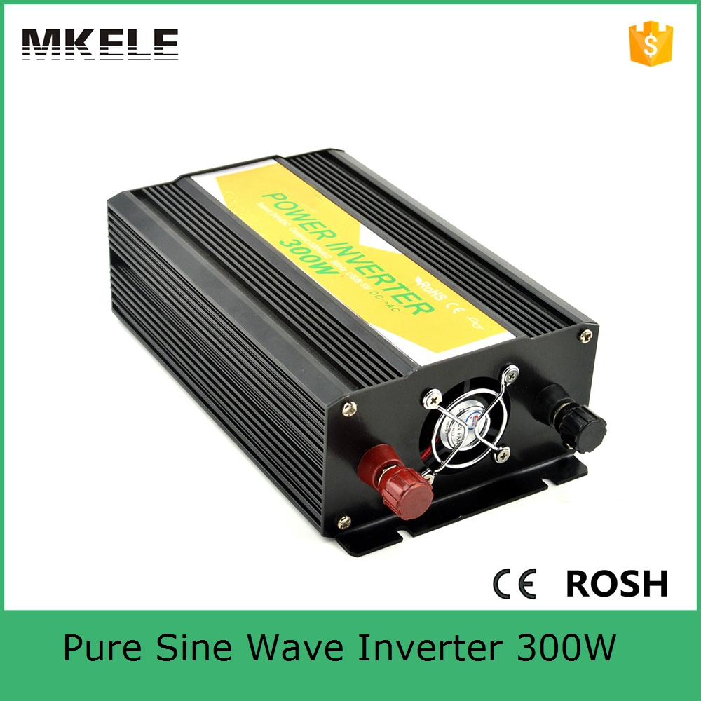 цена на MKP300-121B high quality dc ac electric power inverter 300 watt 12v to 120v inverter pure sine power inverters off grid type