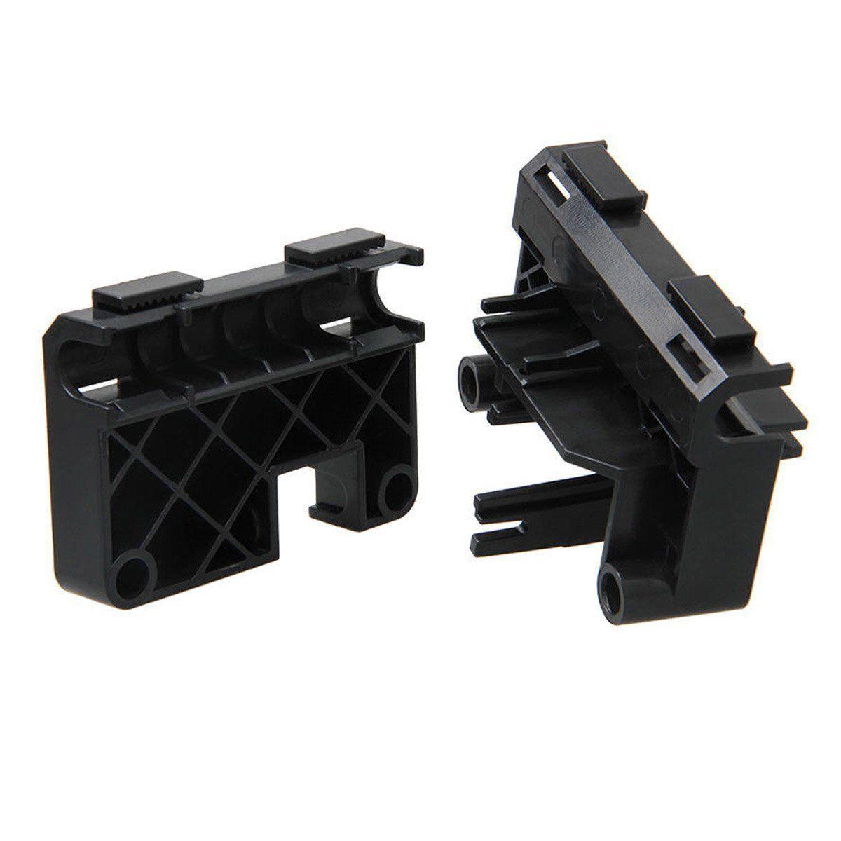 Pièces en plastique kit ensemble Complet Extrudeuse Cadre pour Makerbot Replicator 3D Imprimante MK8 MK7 ABS Noir