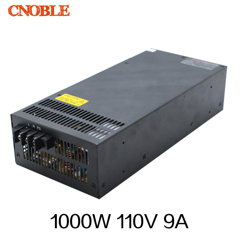 1000W 0 to 110V adjustable 9A Single Output Switching power supply AC to DC 110V or 220V 1200w 12v 100a adjustable 220v input single output switching power supply for led strip light ac to dc