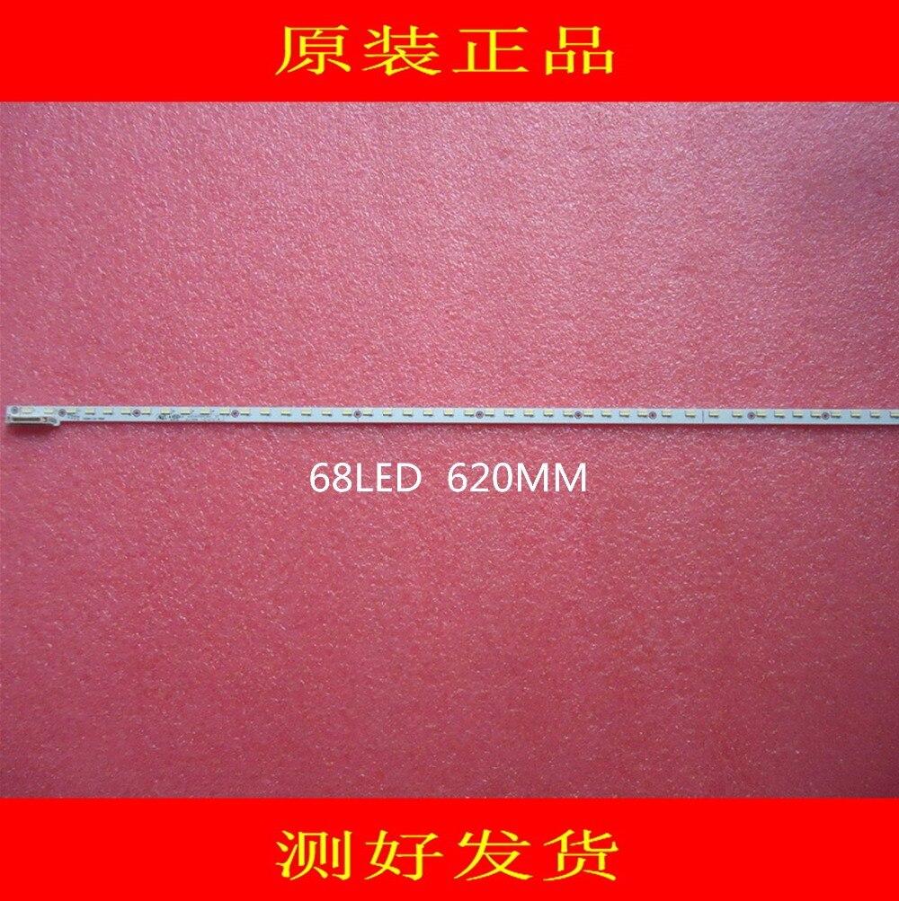 2PCS/lot   NEW    68LED 620MM LED Strip V500H1-LE6-TREM7 For V500HJ1-LE8 LED50M5580AF