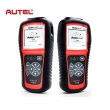 Autel Автоссылка AL519 Универсальный OBD2 сканер автомобиля DTC товара читать сканирования AL-519 OBDII автоматический диагностический-Инструмент OBD 2 II сканер PK MS509