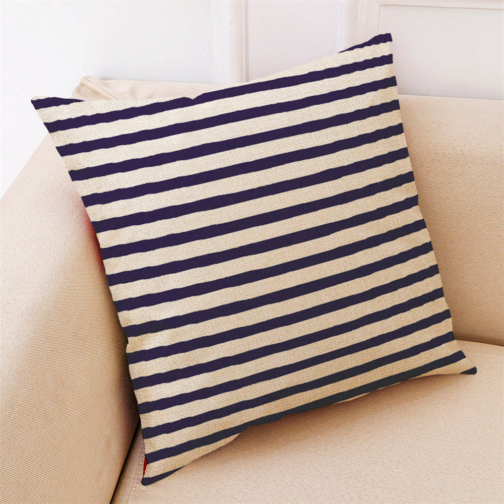 Image 3 - 2018 Fashion Pillow Cover 45*45cm Sofa Bed Home Decor Cushion Cover Simple Geometric Multicolor Comfortable Throw Pillowcover-in Cushion Cover from Home & Garden
