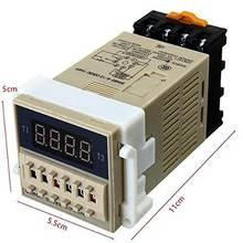 1 шт dh48s s переменного тока 220 в повторный цикл spdt реле