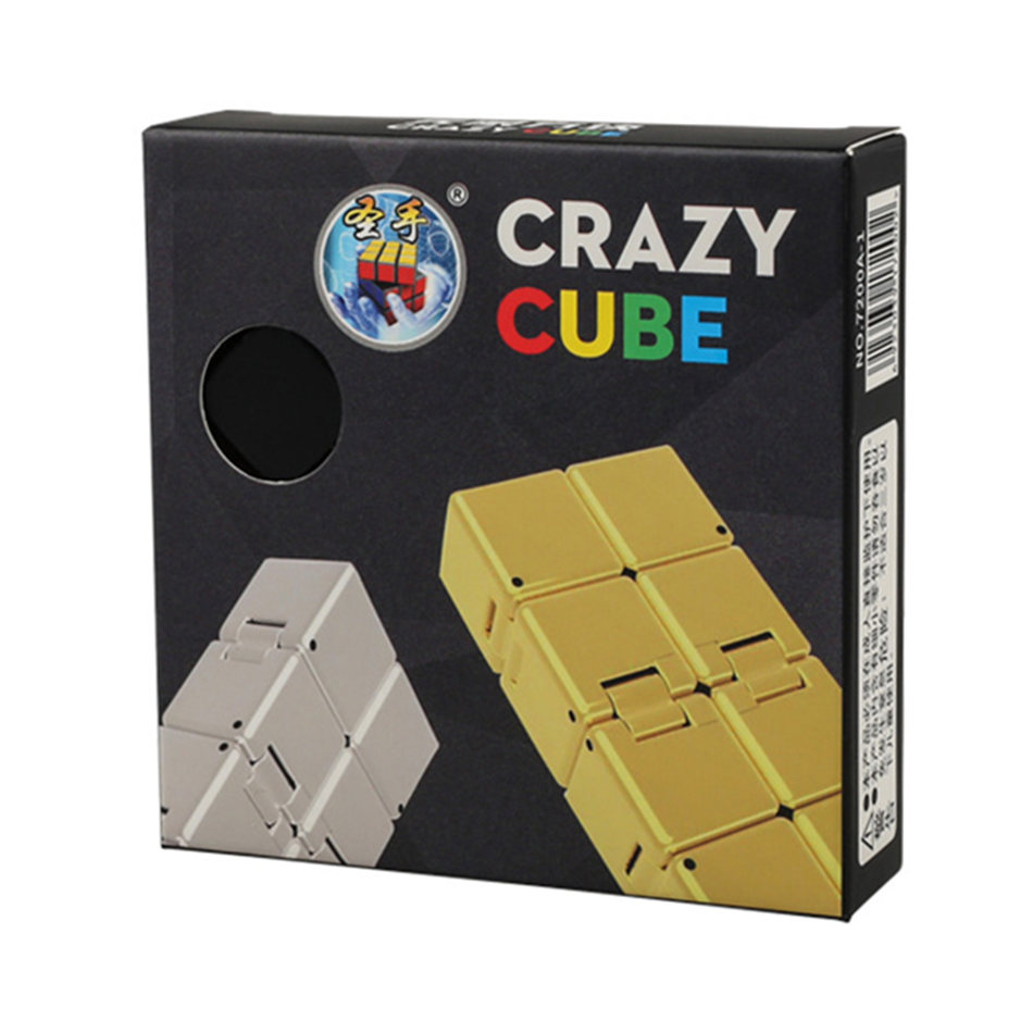 ShengShou 2x2 Crazy Cube 2x2x2 Infinity Cube Endless Speed Cube Professional Puzzle Toys For Children Kids Gift Toy
