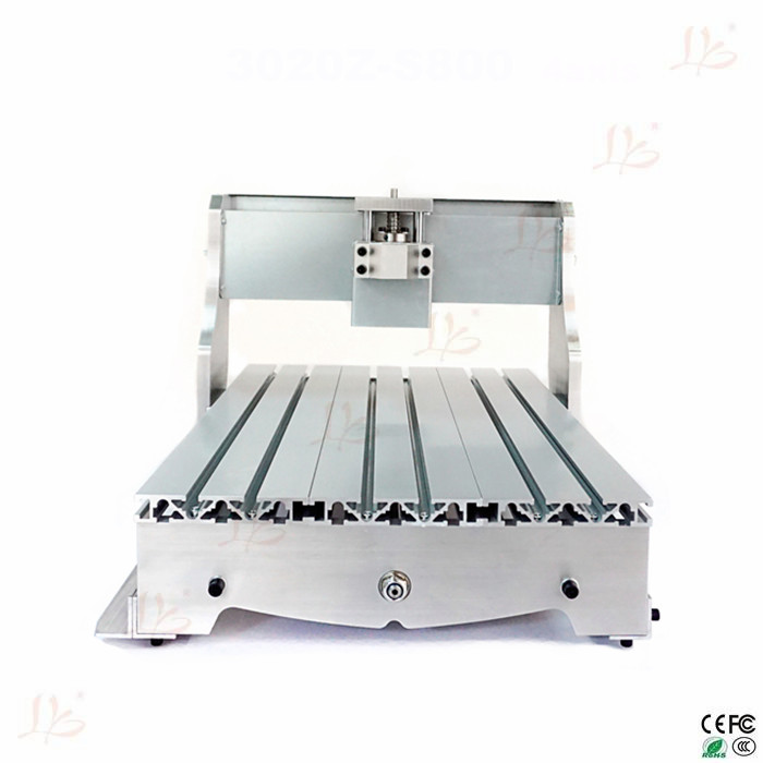 Mini CNC Engraving Machine Parts 3040 Lathe Bed Frame with Ball ...
