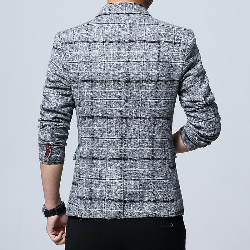 BOLUBAO Mens Wedding Suit Male Blazers Slim Fit Suits for Men Costume Business Formal Party Blazer Men's 5