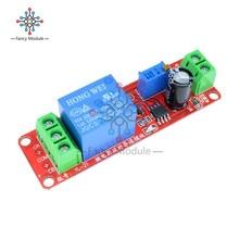 NE555 таймер Регулируемый Модуль реле задержки времени модуль DC 12 В реле задержки щит 0~ 10S