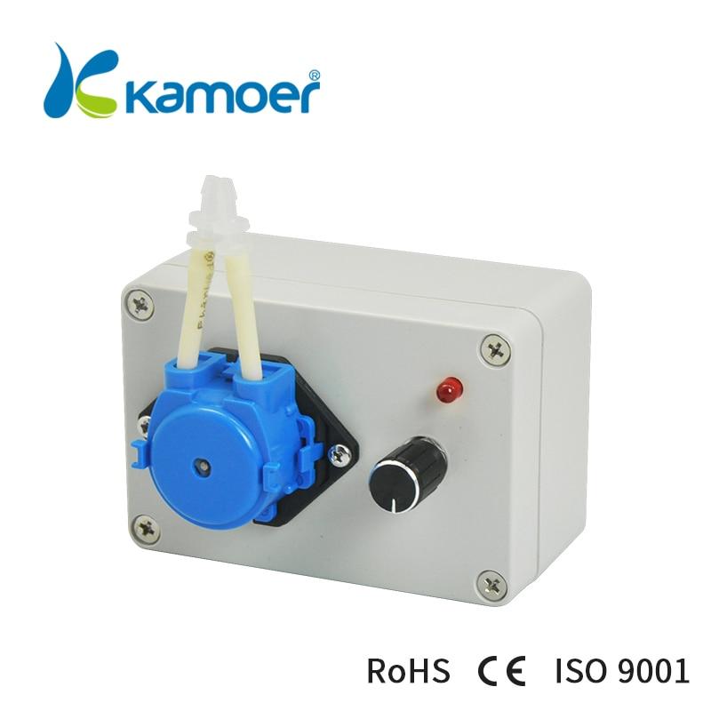Kamoer KCP-C peristaltic fluid pump 24V intelligent pump machine dc motor аксессуар kupo toothy convi clamp kcp 701p silver