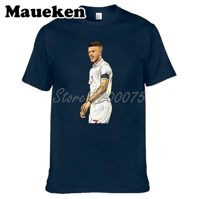 cc3d1c2821 David Beckham 7 Legend Captain Men T-shirt Clothes Short Sleeve T SHIRT  Men s Fashion heartthrob W0223031