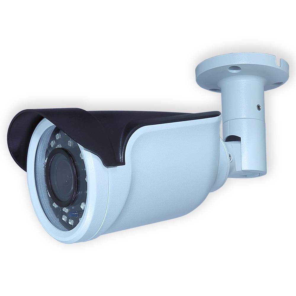 2.0 Mégapixels 2.8-12mm Objectif Motorisé Caméra Sony IMX323 CMOS Capteur Étanche Bullet HDTVI Vidéo Cam Soutien AHD /TVI/CVI/CVBS