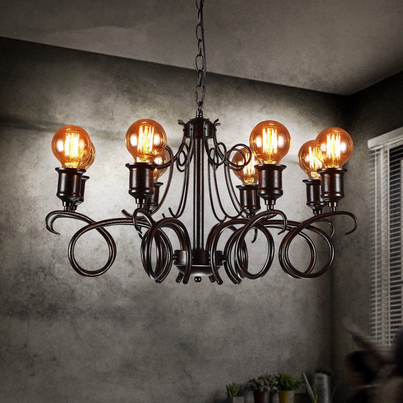 IWHD Retro Vintage Lamp LED Pendant Lights Loft Style Industrial Hanging Lamps Bar Cafe Light Home Lighting Fixtures Hanglampen|Pendant Lights| |  - title=